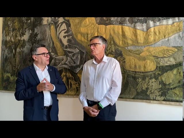 Intervista a Mario Sacco, presidente della Cassa di Risparmio di Asti