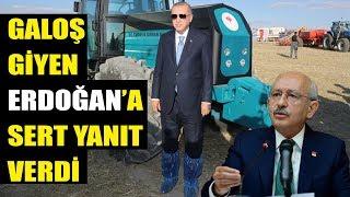 Kılıçdaroğlu'ndan Erdoğan'a çok sert galoş yanıtı