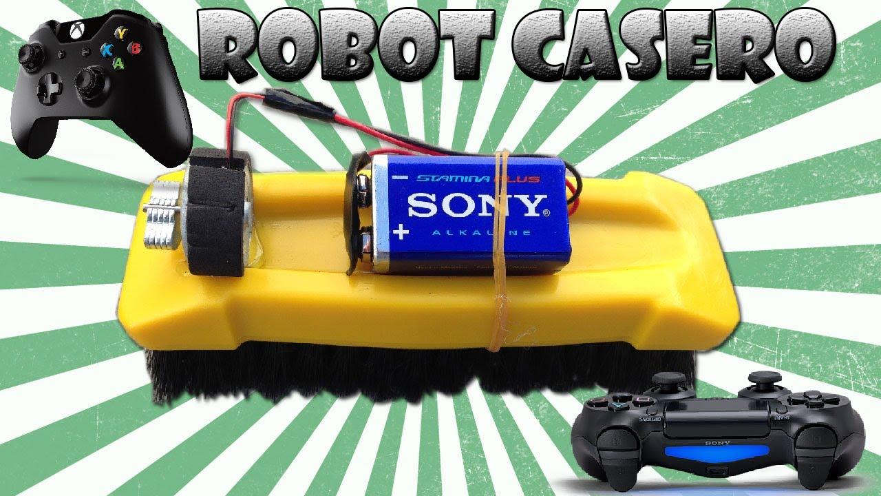 Como Hacer un Robot Casero con un Gamepad (Muy Fácil ) - YouTube