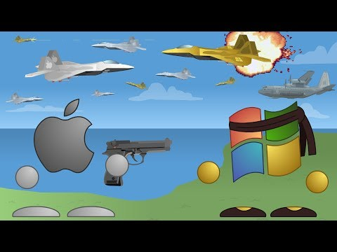 Mac vs PC: Aerial Warfare