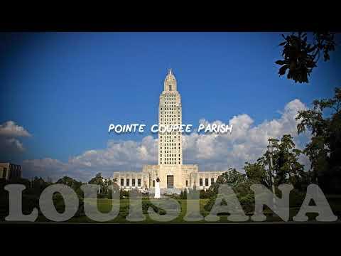 How to pronounce US places POINTE COUPEE PARISH   Louisiana