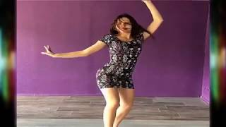 beautiful girl is dancing