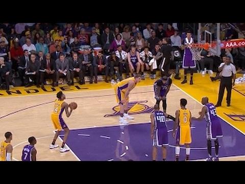 Brandon Ingram Airballs A Free Throw! - (Lakers vs Kings) - 2017 ... 02588a2a6
