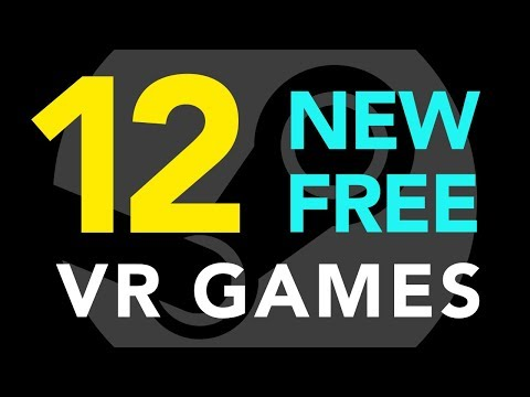 12 New Free VR Games!