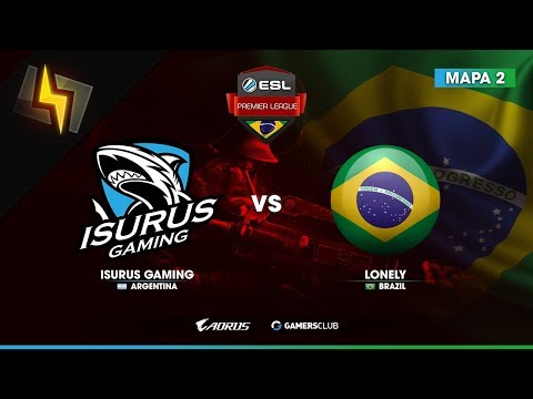 [ES] Isurus Gaming vs Lonely | ESL Brazil Premier League | Qualifier #4 | BO3 | Cache