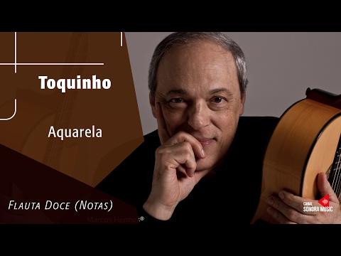 Aquarela - Toquinho - Flauta Doce (Notas)