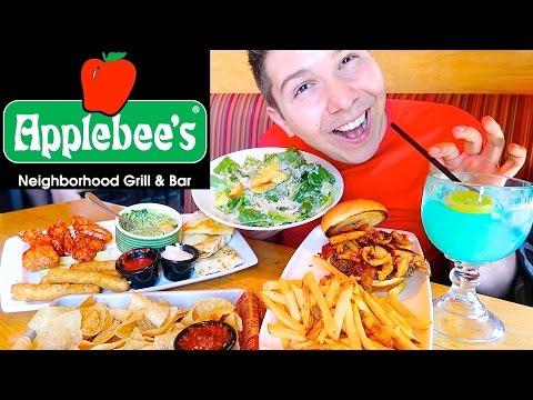 Applebee's Grill & Bar • Ultimate Feast • MUKBANG