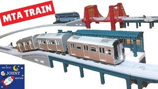 MTA Trains For Kids NYC Subway Train Toy Set USA Train Series