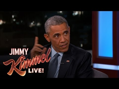 Jimmy Kimmel Asks President Barack Obama About His Daily Life