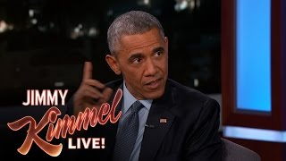 Download Jimmy Kimmel Asks President Barack Obama About His Daily Life Mp3 and Videos