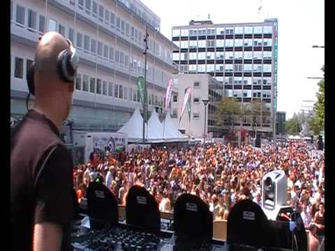 Dancetour Dordrecht 2011 DJ Denman part 1 Dirty South - Coming Home