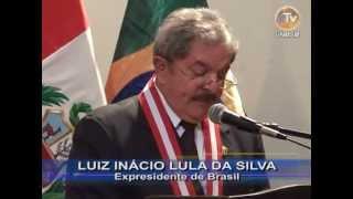 Ceremonia Completa UNMSM incorpora como Doctor Honoris Causa a Luiz Inácio Lula Da Silva