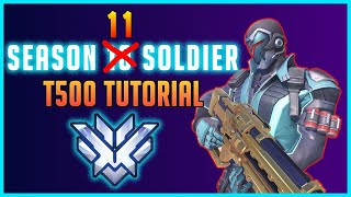 Overwatch Soldier 76 THE BEST tutorial! Climb in Competitive