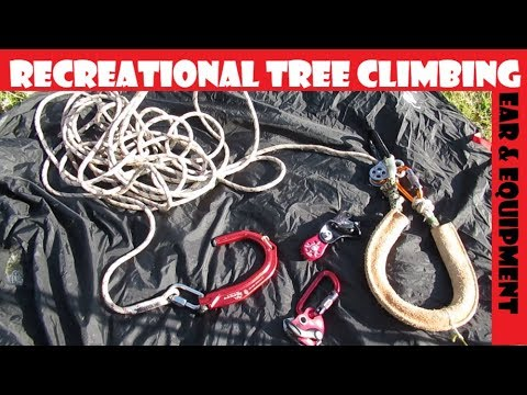 2019 Recreational Tree Climbing Gear & Equipment