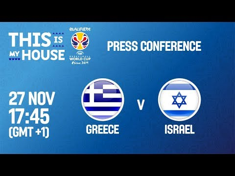 Greece v Israel - Press Conference - FIBA Basketball World Cup 2019 - European Qualifiers