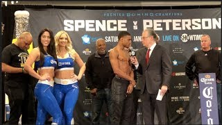 IT STARTED W/ KELL BROOK. NOW IM GOING TO GET LAMONT PETERSON, THEN THE REST OF THEM - ERROL SPENCE