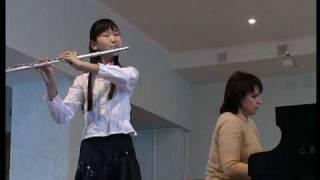 mozart flute sonata f dur kv 13 4 pak di na 12 y o
