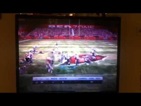Madden 12 Lorenzo Booker touchdown