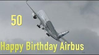 50 Successful Years ! Happy Birthday Airbus