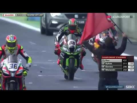 Full Race WSBK Magny cours France 1 2017| Jonathan Rea Word Champions Record