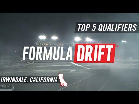 Formula Drift Irwindale 2017: Top 5 Qualifiers