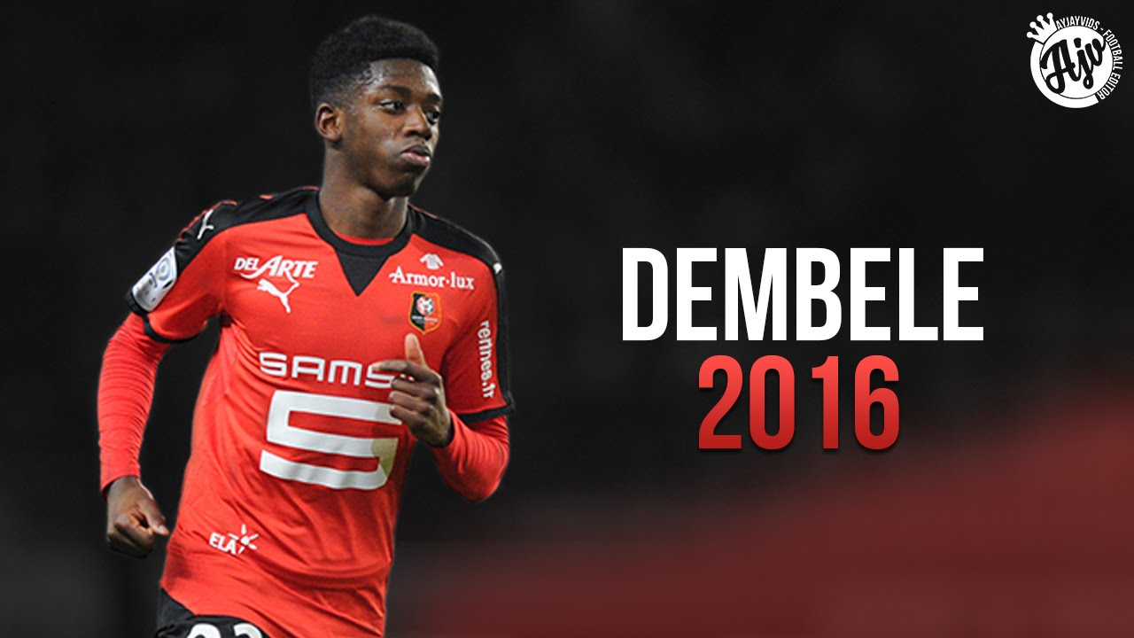 Ousmane Dembélé 2016 Amazing Skill Show HD