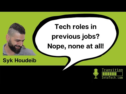Syk Houdeib: 'Front-end developer... I still have to pinch myself!' 3