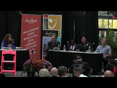 Downtown Winnipeg Election Debate