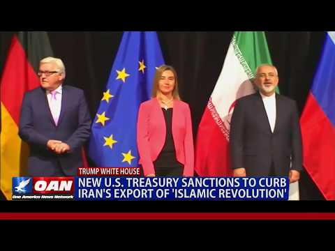 New U.S. Treasury Sanctions to Curb Iran's Export of 'Islamic Revolution'