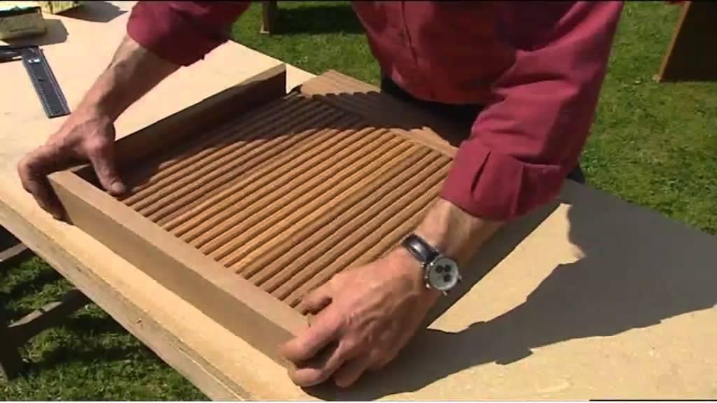 Fabriquer des meubles de jardin  YouTube