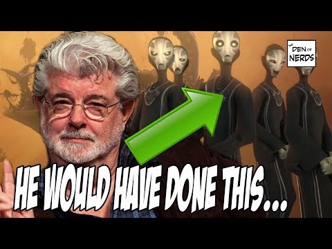 George Lucas Plans for Sequel Trilogy Revealed | The Whills and Feeding off the Force?