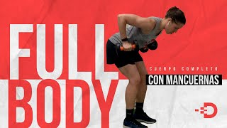 FULL BODY CON PESO - 15 MINUTOS INTENSOS