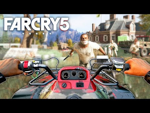 ROADKILL OUTPOST LIBERATION | Far Cry 5 Free Roam