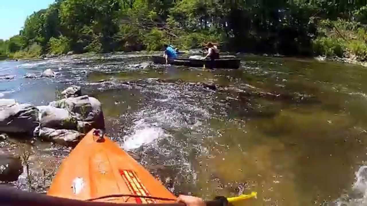 Kayaking Arkansas River