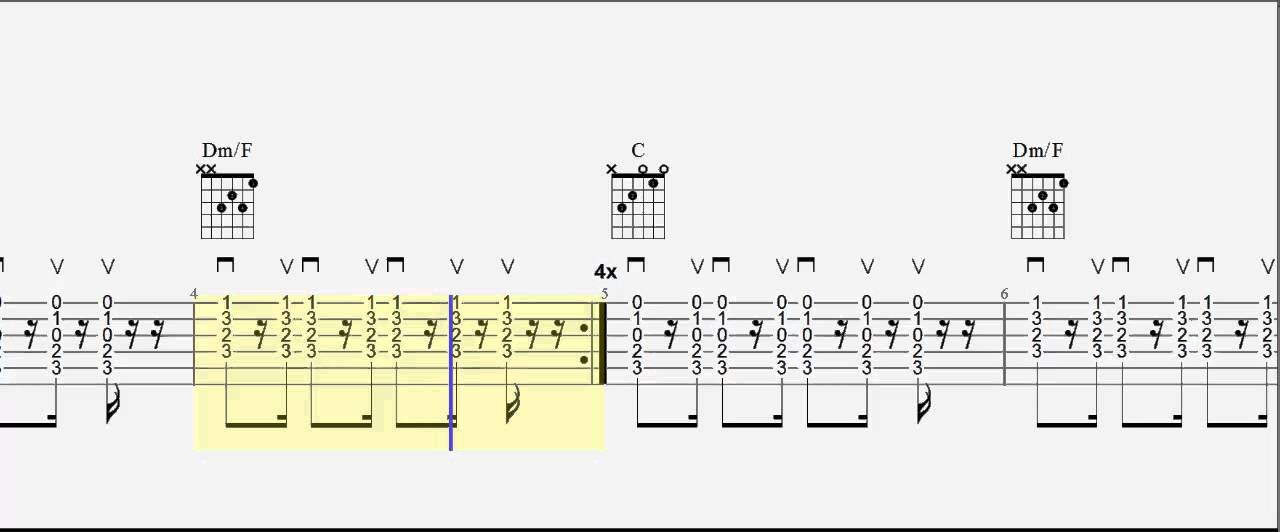 Guitar tab - Walk on the Wild Side - Chords and Bass Riff - Lou Reed ...