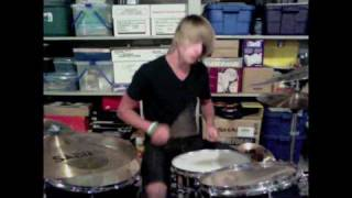 Breathing In A New Mentality Drum Cover