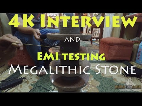 4K vid! EMI testing of megalithic stone, and Interview with Yousef Awyan