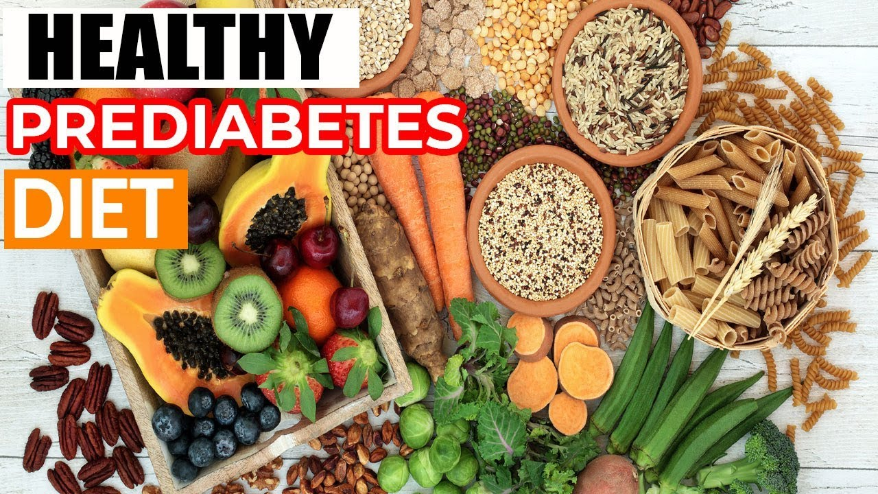 what diet is good for pre diabetes