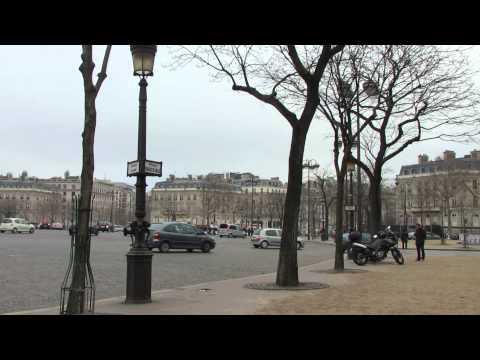 Parijs - Arc de Triomphe / Place Charles de Gaulle 12 dec 2014