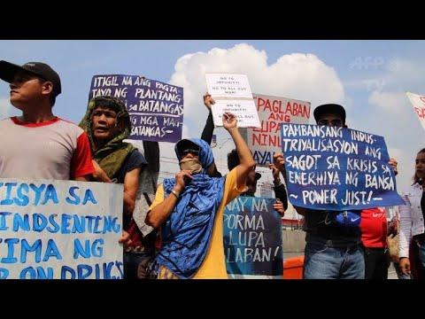 Anti-Duterte protests over drug war killings