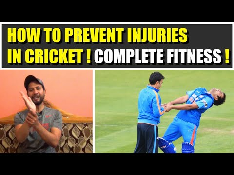 Prevent Injuries In Cricket By Doing This Easy Fitness ! Must Watch ! Cricket Zone !