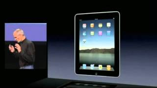 Apple iPad: Steve Jobs Keynote Jan 27 2010 part 1