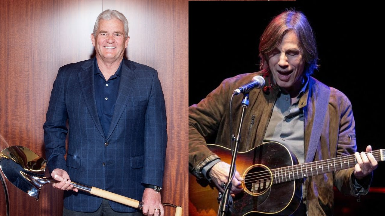 "Jackson Browne Married Cheap i do not play for oil interests"": jackson browne to his biggest"