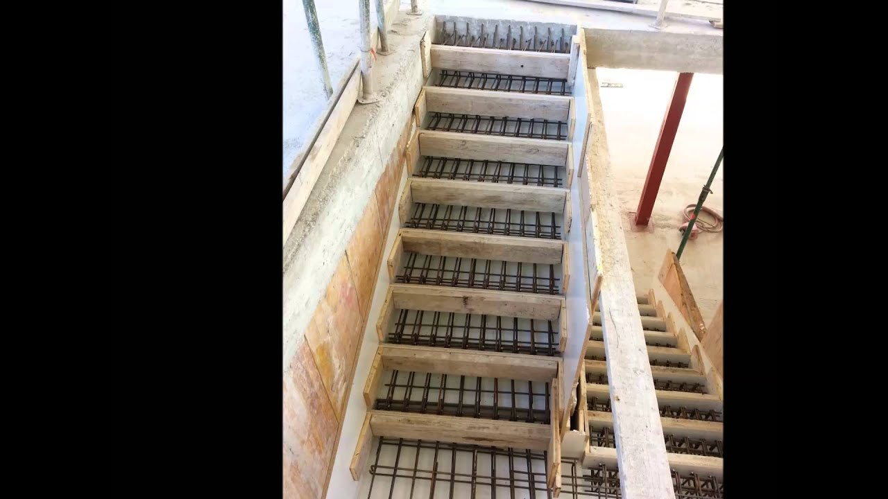 Escalera vista monolit youtube - Escaleras de hormigon armado visto ...