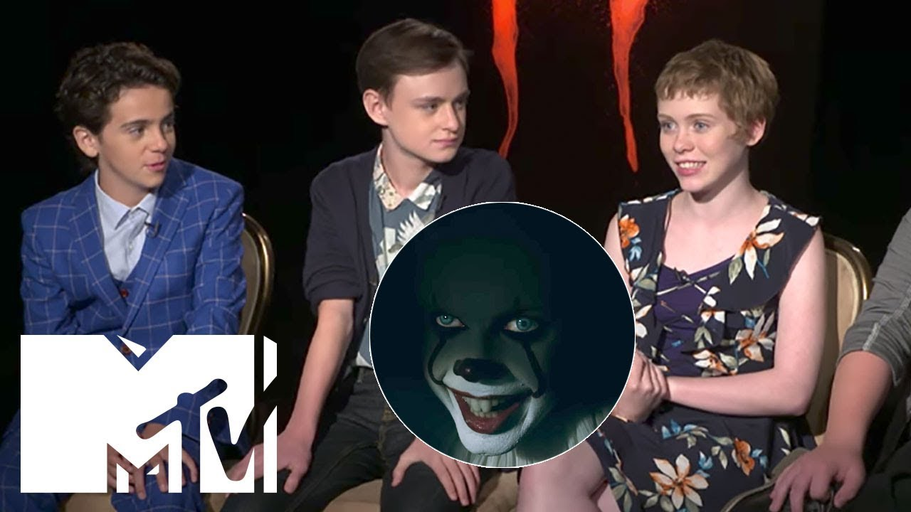 it 2017 scariest moments cast reveal faves mtv movies youtube. Black Bedroom Furniture Sets. Home Design Ideas