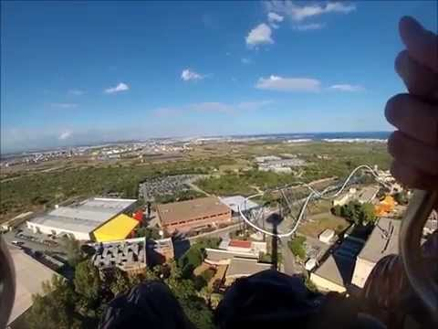 Port aventura Go pro - Top attractions [HD]