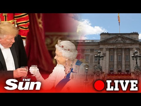 NATO leaders attend a reception at Buckingham Palace | LIVE