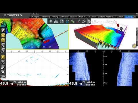 Multibeam sonar DFF-3D with Maxsea Pro v3.3