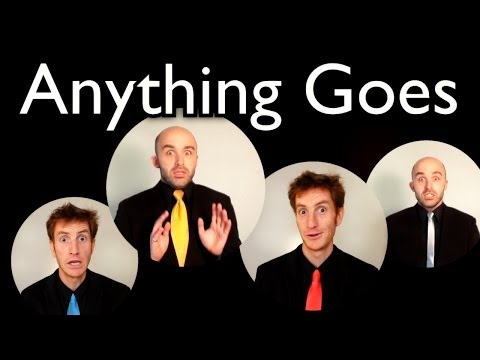 Anything Goes [FALLOUT 3] - Barbershop Quartet A Cappella - Cole Porter