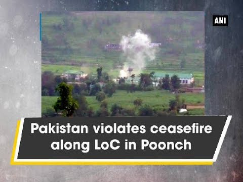 Pakistan violates ceasefire along LoC in Poonch - Kashmir News